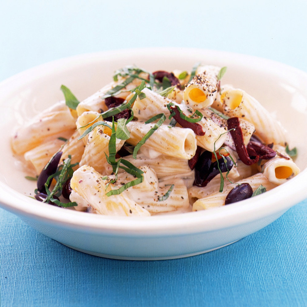 Rigatoni with Goat Cheese