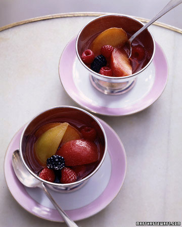 Late Summer Fruits in Rose