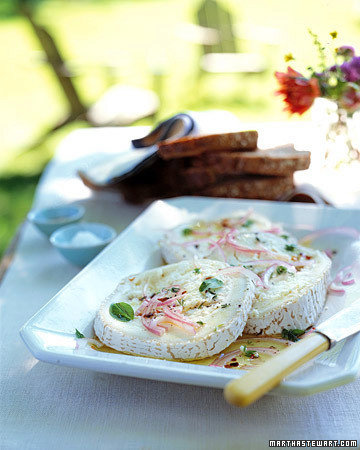 Herb Marinated Cheese