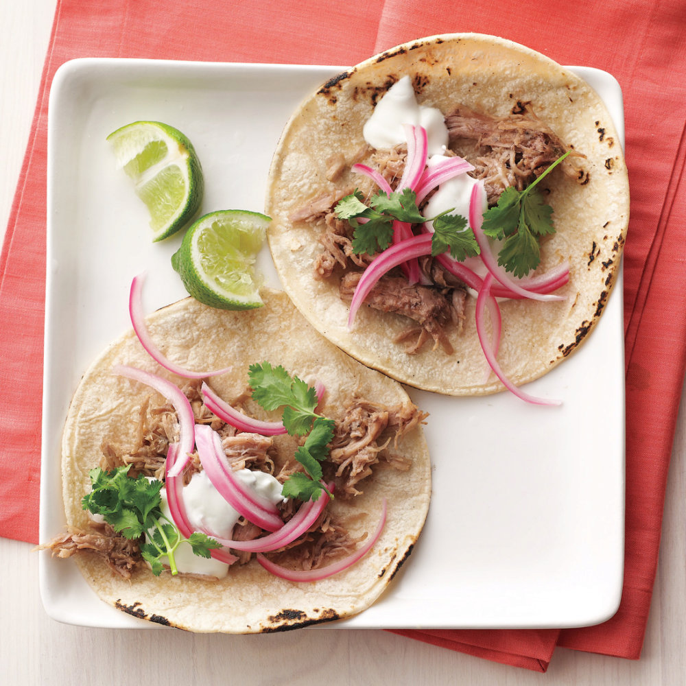Quick Pulled Pork Tacos