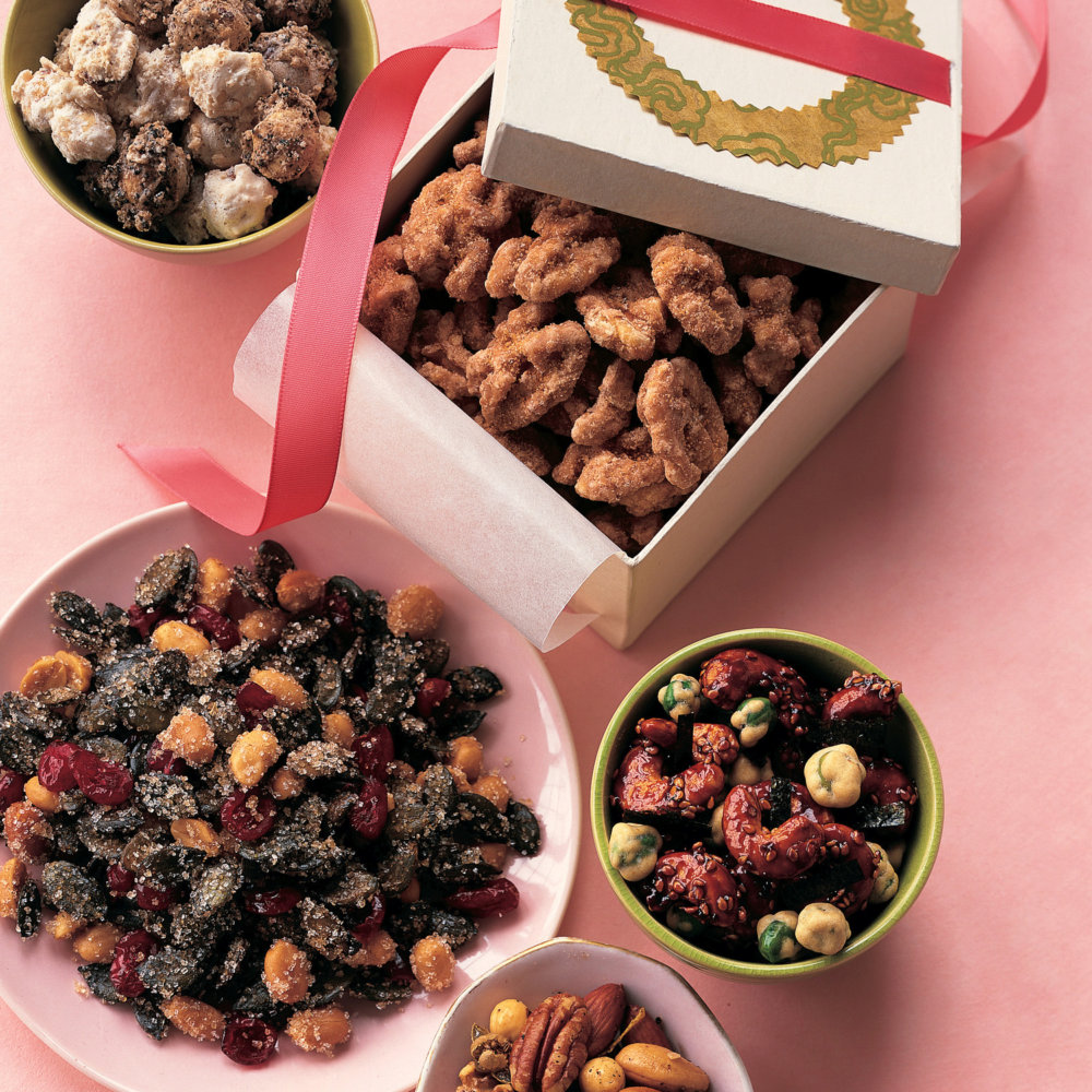 Peppered Mixed Nuts with Lemon and Capers