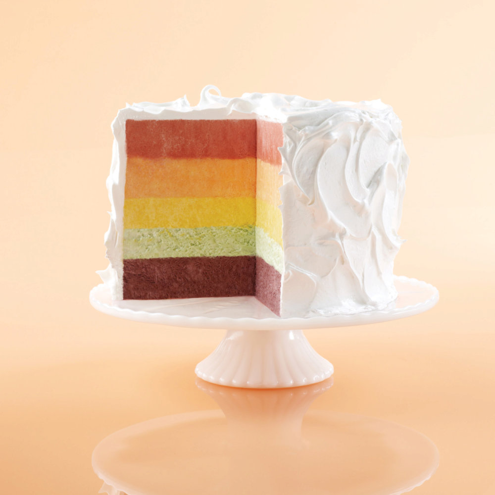 Seven-Minute Frosting for Frozen Rainbow Chiffon Cake