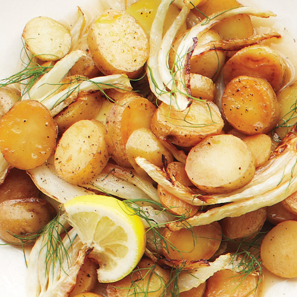 Braised Fennel and Potatoes