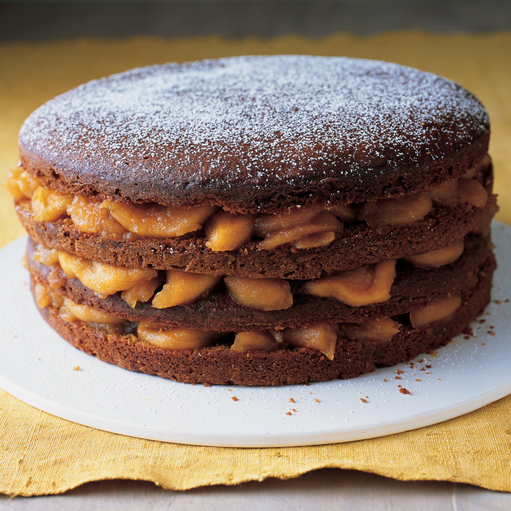 Apple-Ginger Stack Cake