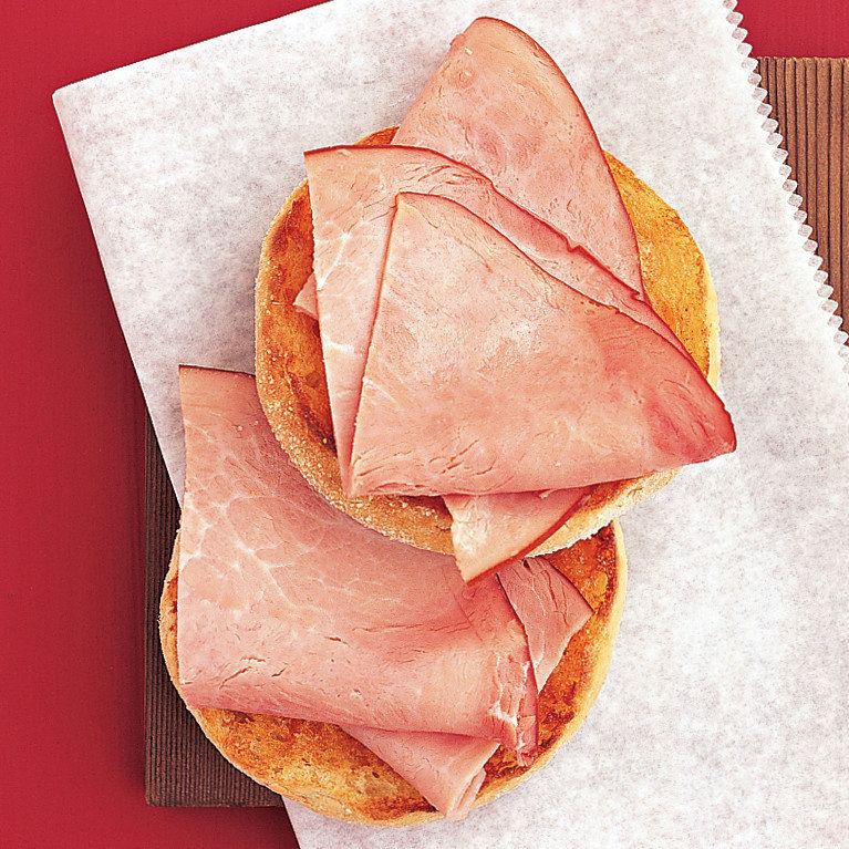Toast with Ham and Paprika Butter