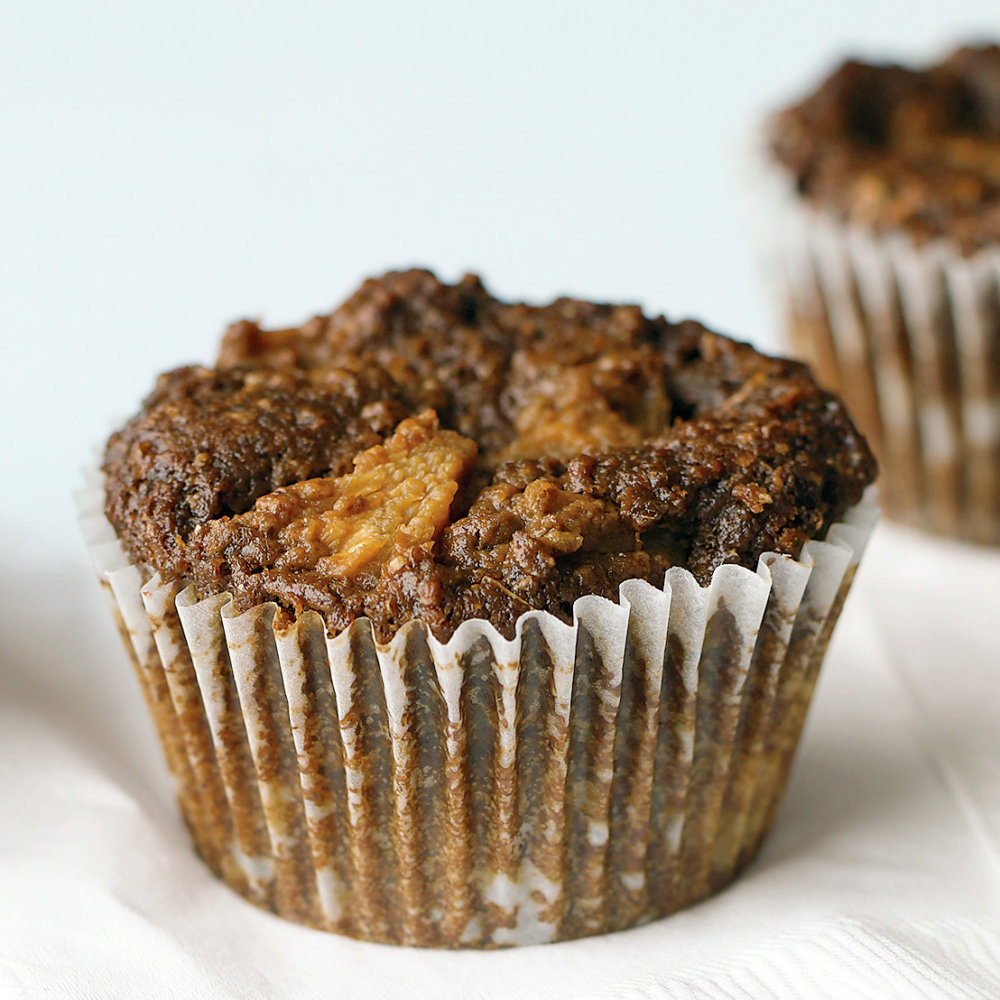 Bran Muffins with Pineapple