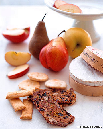 Baked Camembert with Fresh Fruit
