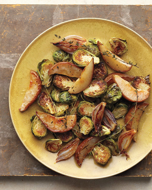 Quick Roasted Brussels Sprouts