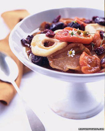 Chamomile Dried Fruit Compote