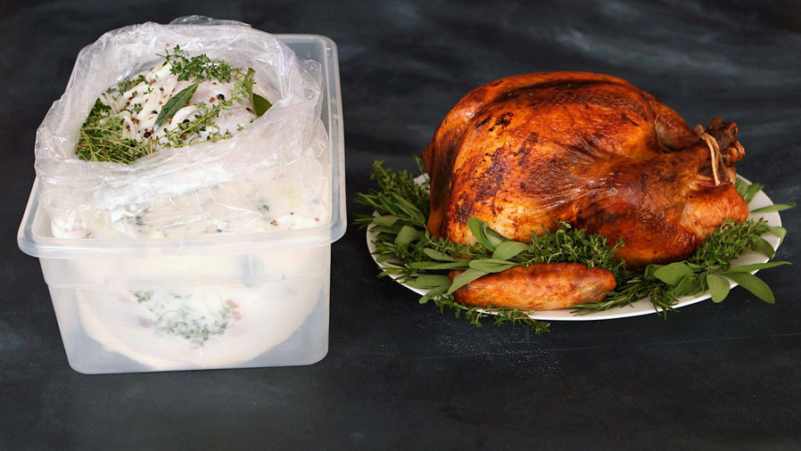 Spiced Buttermilk-Brined Turkey