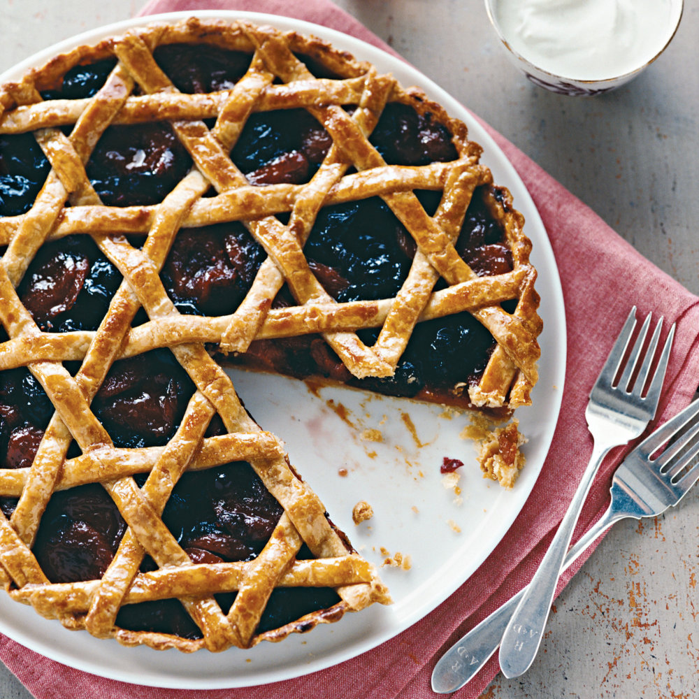 Pate Brisee for Woven Dried-Fruit Tart