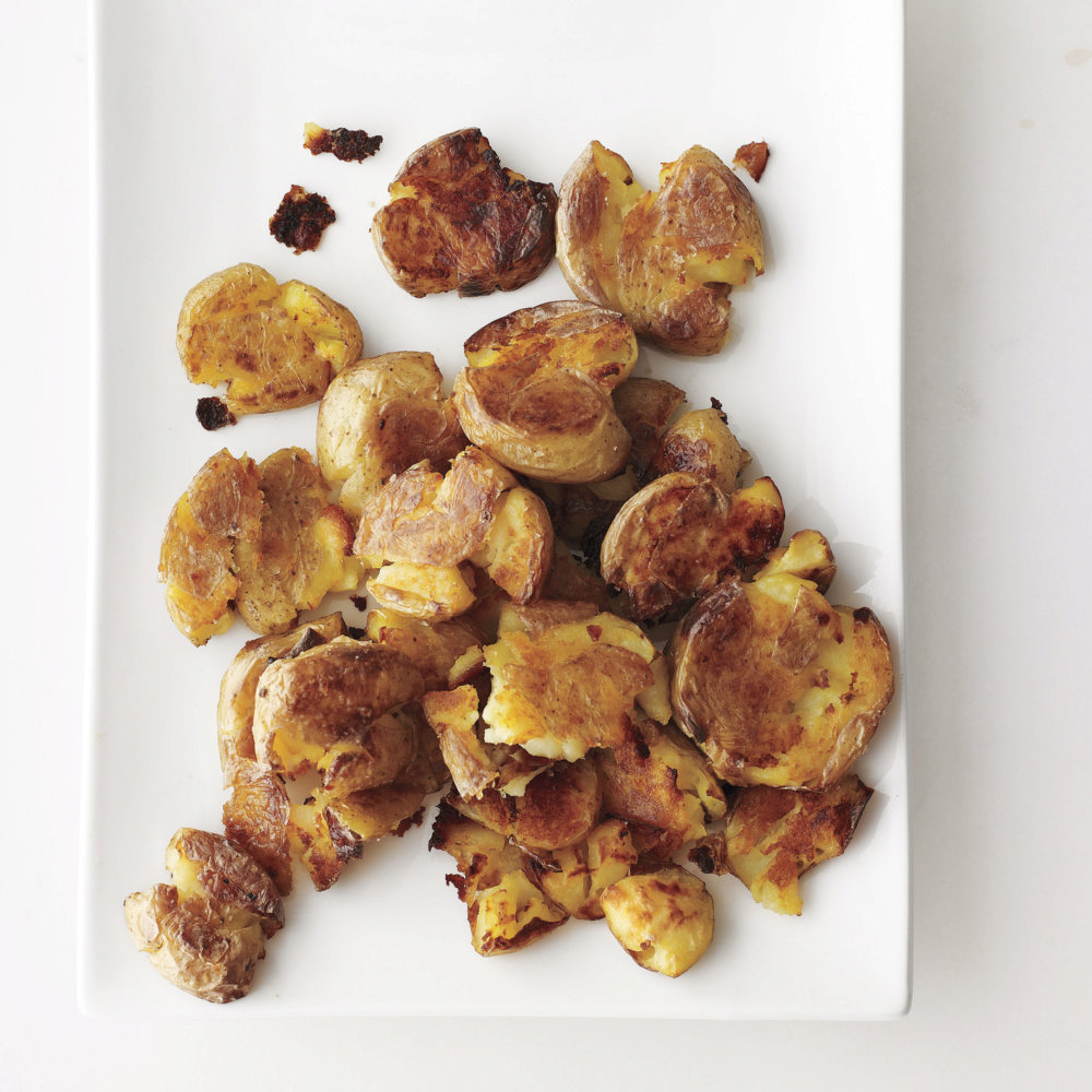 Sarah's Smashed Potatoes
