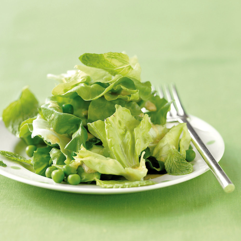 Salad with Mint and Peas