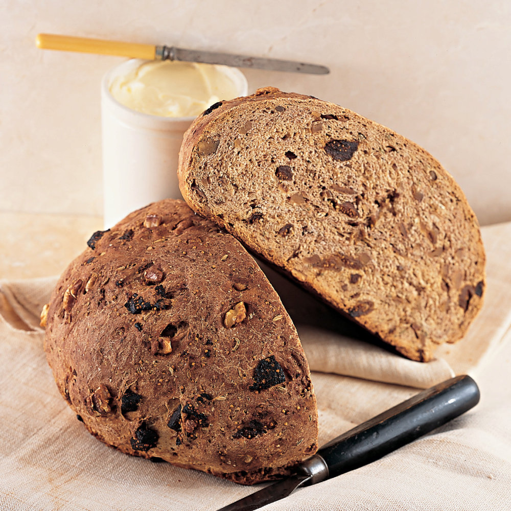 Walnut-Fig Bread