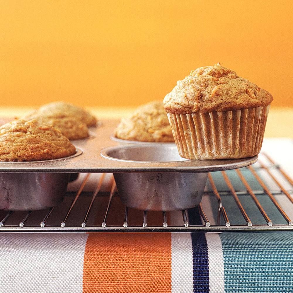 Spiced Carrot Muffins