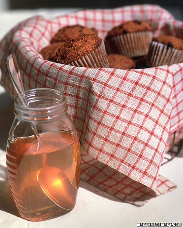 Bran and Currant Muffins