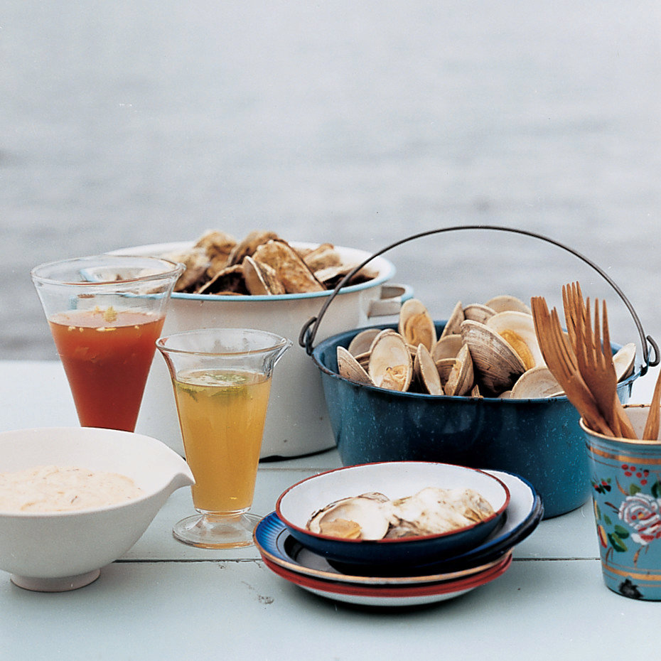 Chipotle Mayonnaise for Spiked Clams and Oysters
