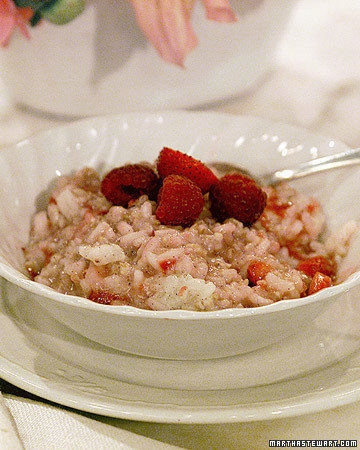 Alex's Red Berry Risotto Oatmeal