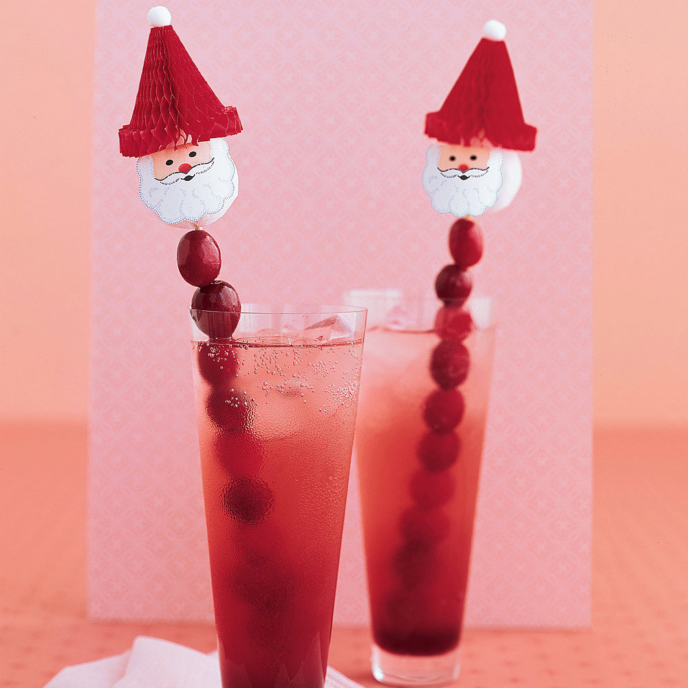 Holiday Cranberry Cocktails