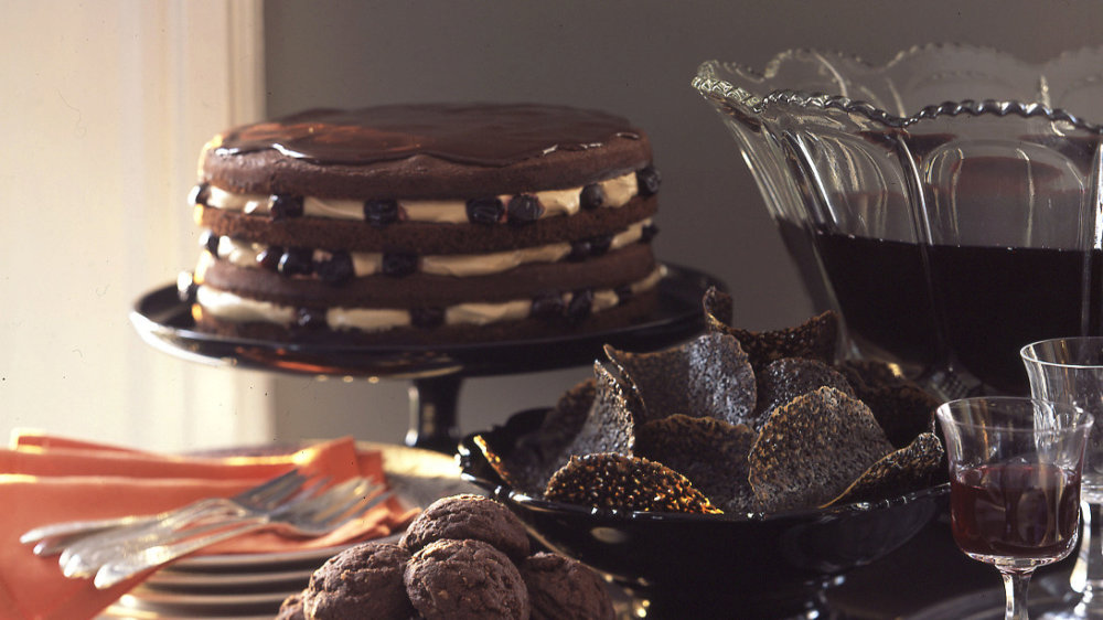 Haunted Black Forest Layer Cake