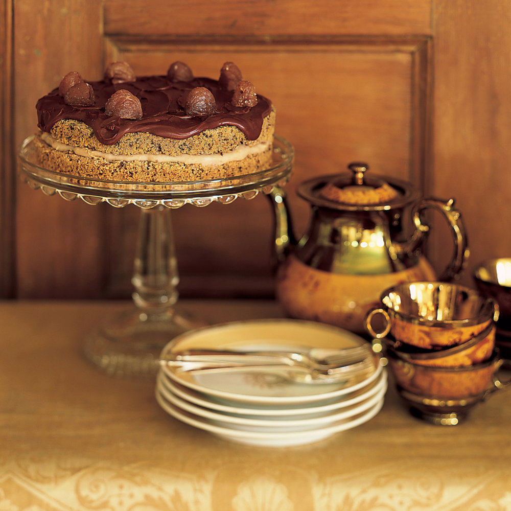 Pastry Cream for Chestnut Chocolate Layer Cake