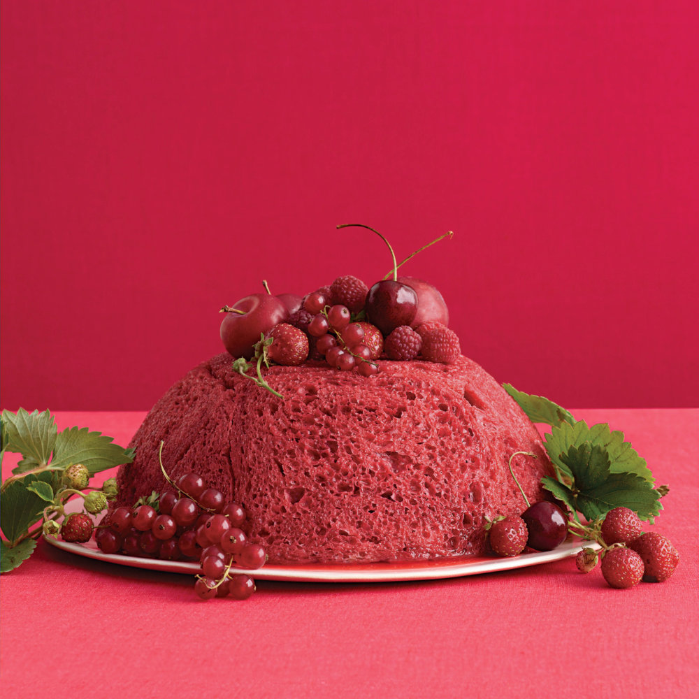 Red-Fruit Summer Pudding