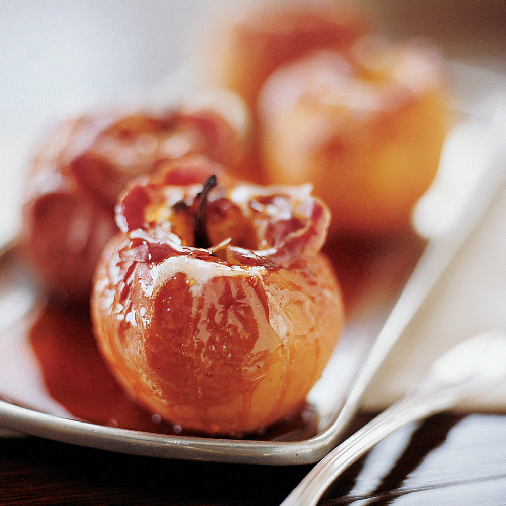 Cider-Glazed Apples