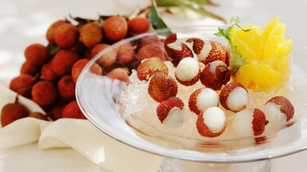 Iced Lychees