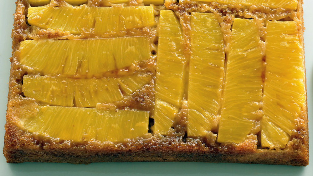 Light Pineapple Upside-Down Cake