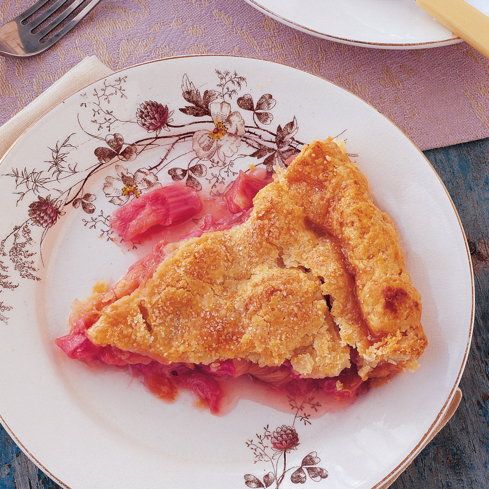 Sweet-Sour Rhubarb Pie