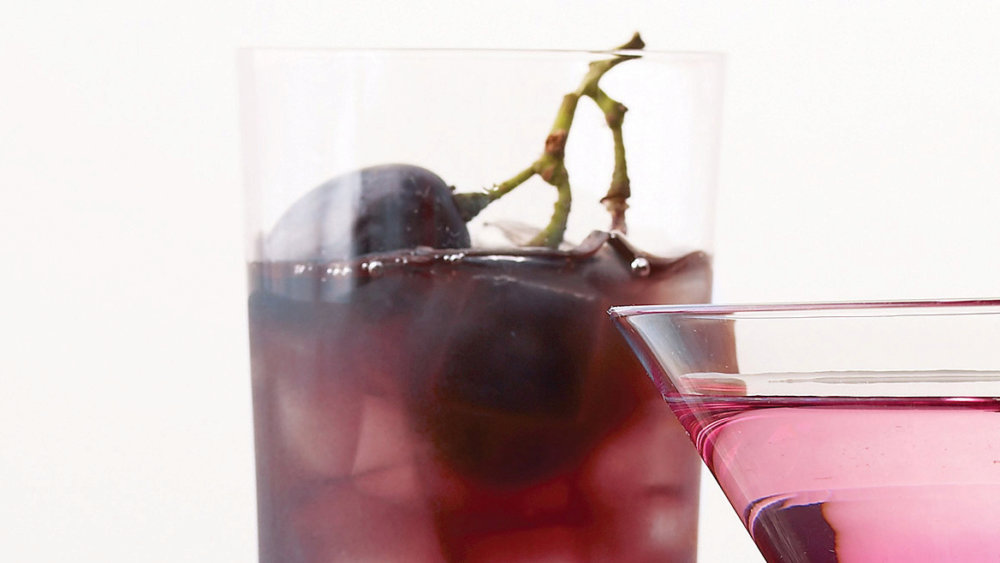 Simple Syrup for Spiced (and Spiked) Concord Grape Punch