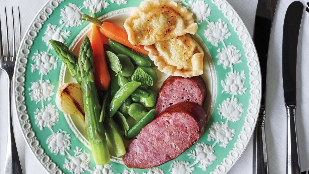 Martha's Favorite Roasted Kielbasa