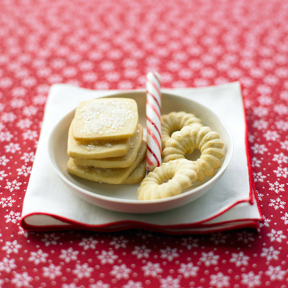 Classic Icebox Butter Cookies