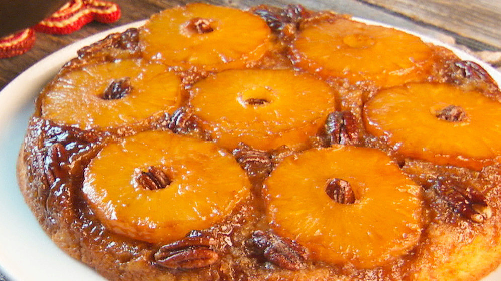 Good Old-Fashioned Pineapple Upside-Down Cake
