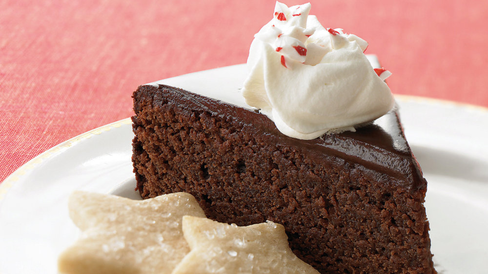 Easy Chocolate-Peppermint Cake