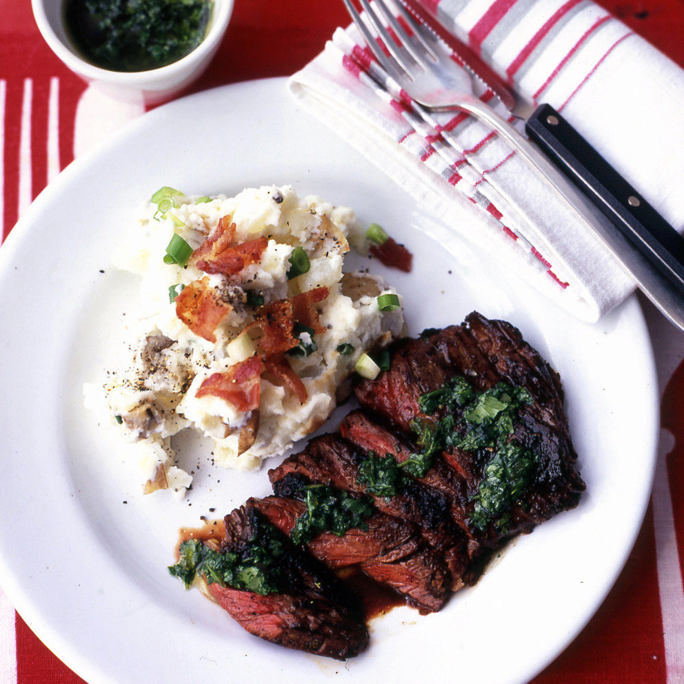 Southwestern Chili-Rubbed Skirt Steak