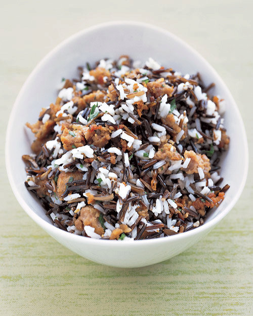 Wild Rice and Sausage Dressing