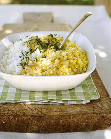 Summer Corn and Rice Pilaf