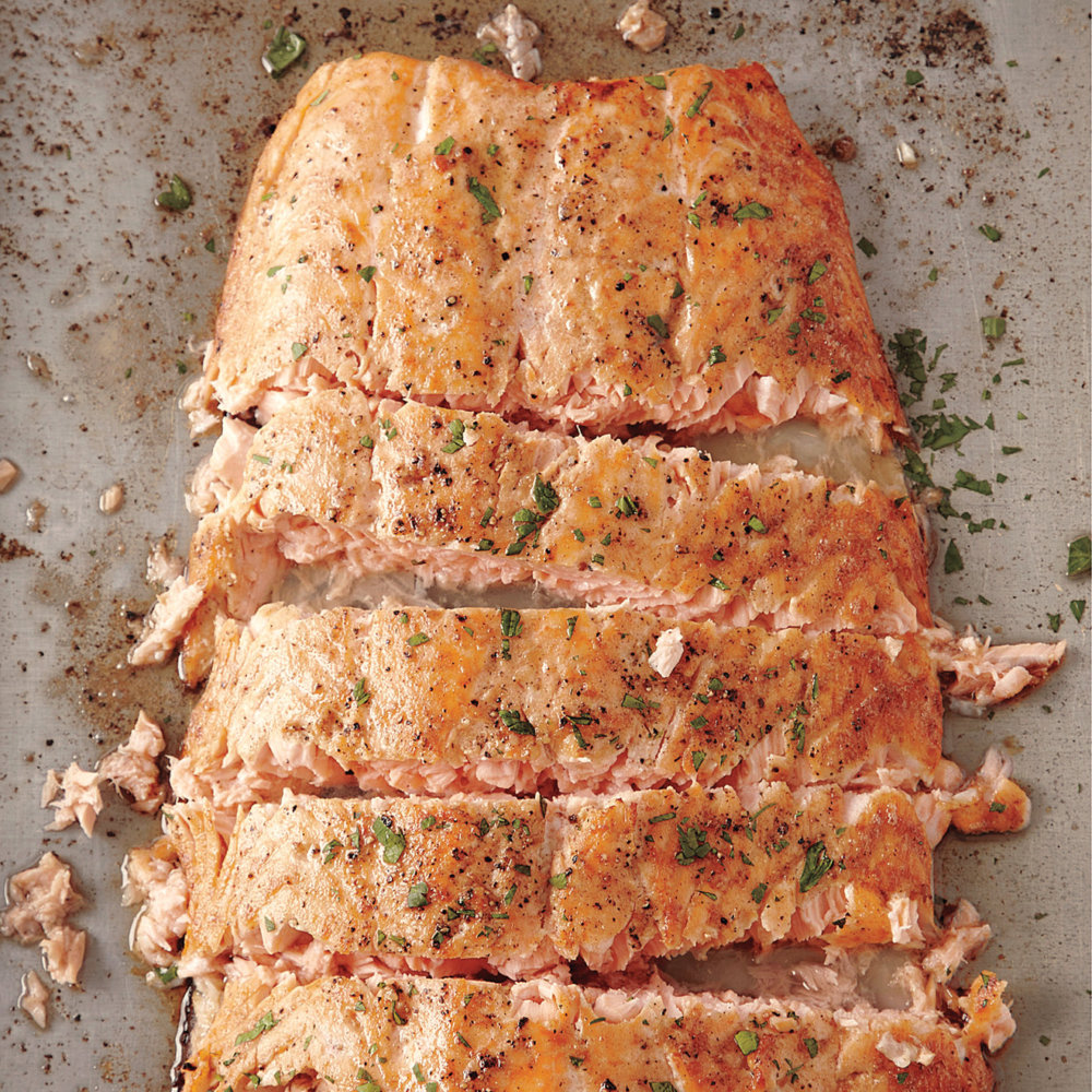 Roasted Salmon with Butter