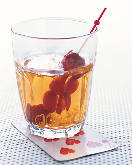 Sour Cherry Old-Fashioned