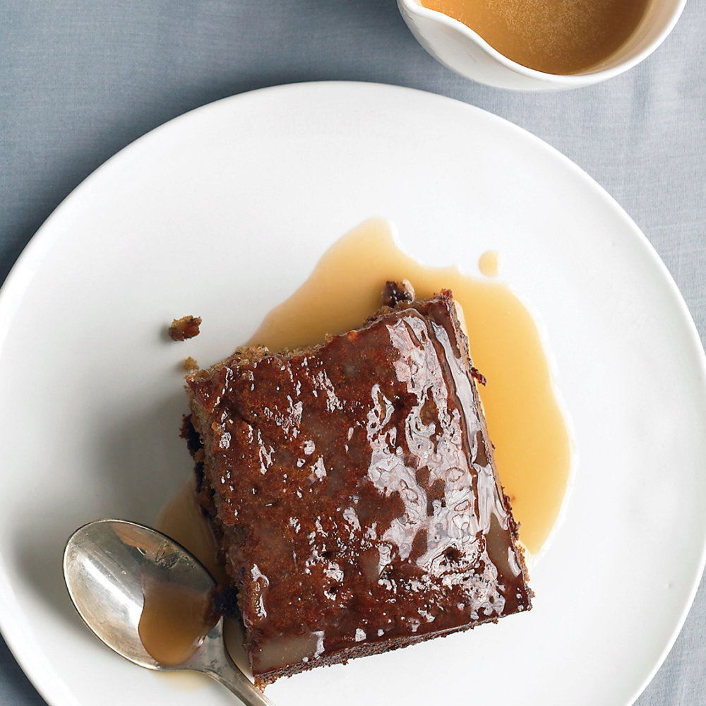 Toffee-Date Pudding