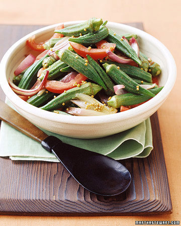Sauteed Okra and Tomatoes