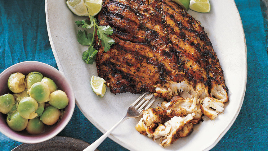 Grilled Fish for Tacos