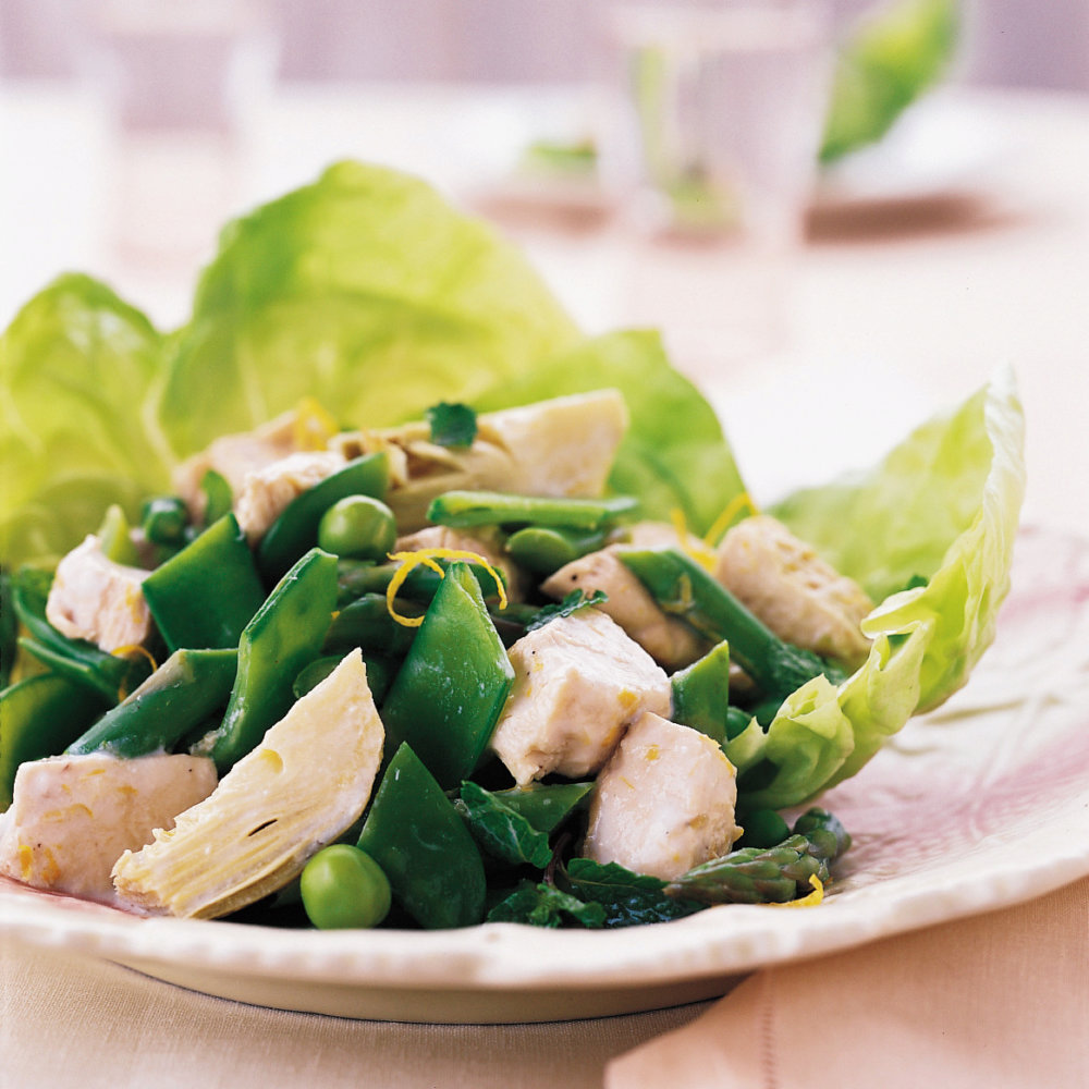 Chicken and Spring-Vegetable Salad