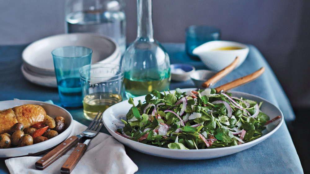 Watercress and Celery Salad