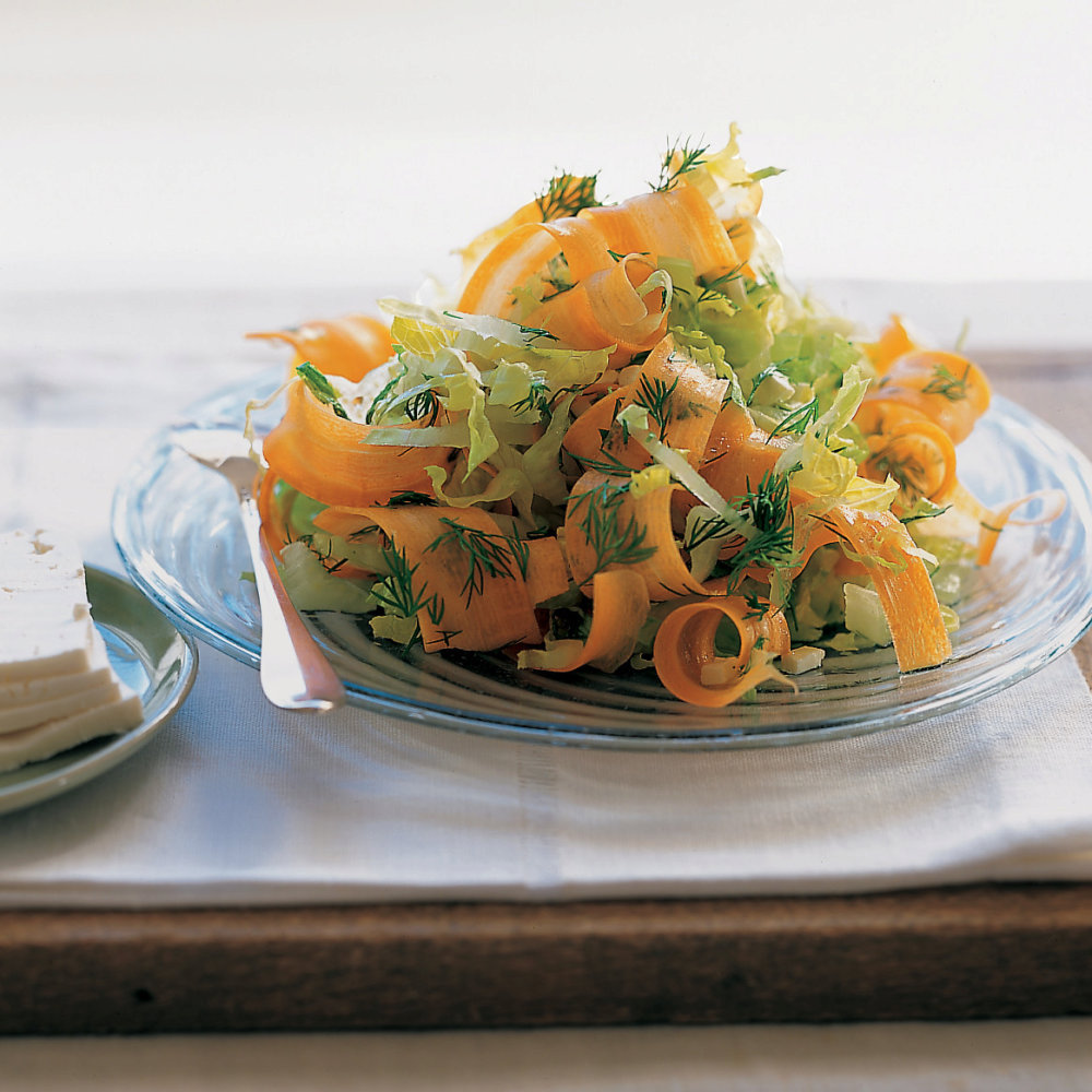 Curly Carrot Salad
