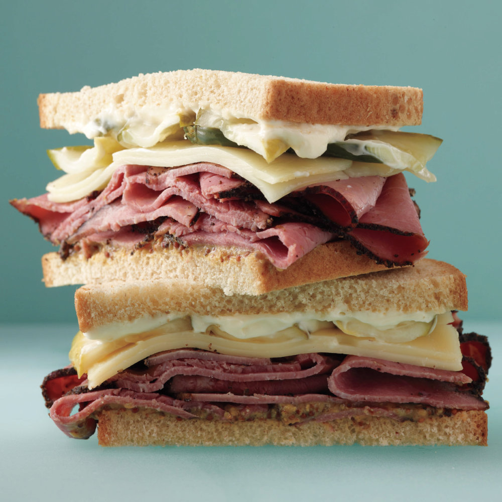 Pastrami-and-Pickle Sandwich