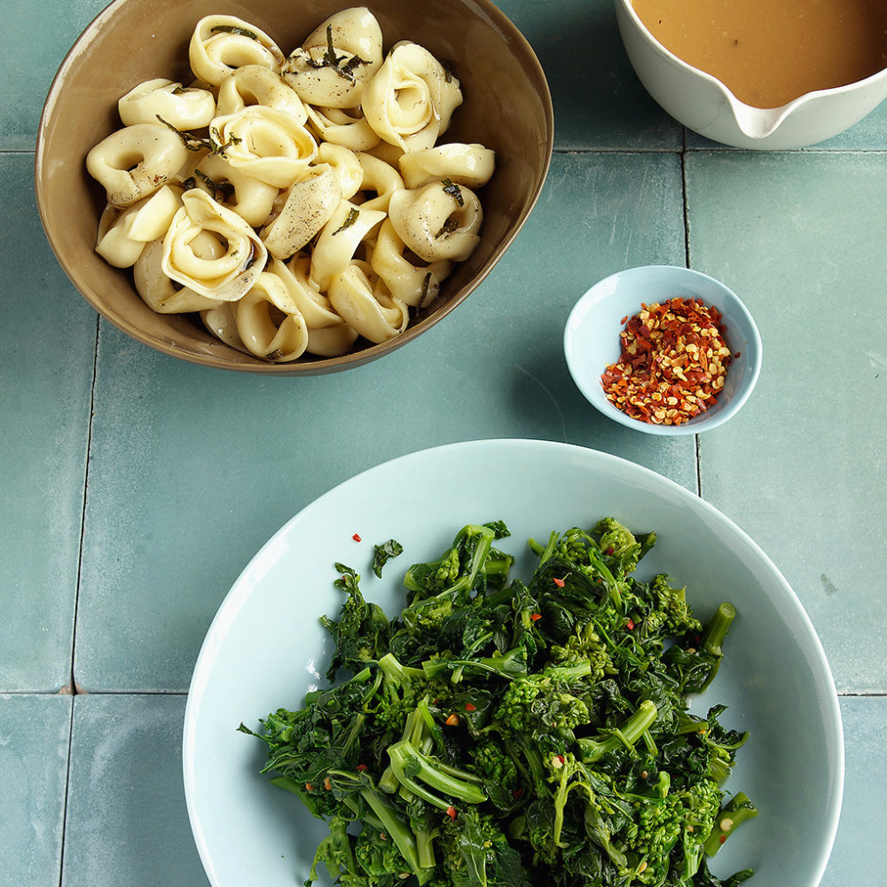Tortellini With Sage Brown Butter