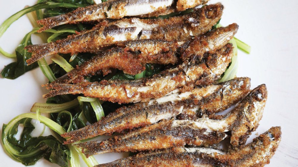 Pan-Fried Anchovies