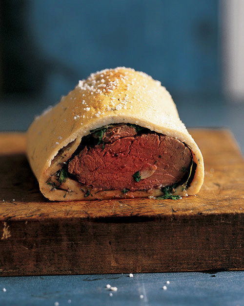 Beef Tenderloin with Herb Salt Crust